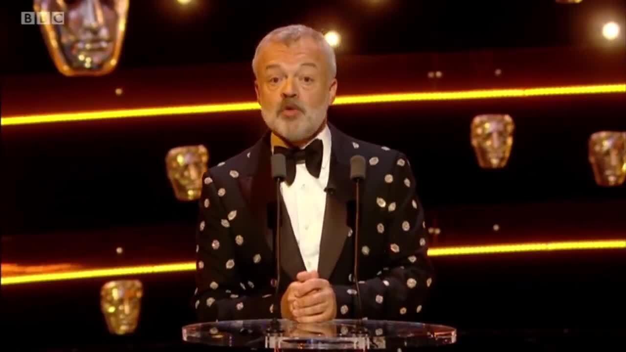 Graham Norton takes swipe at Danny Baker with BAFTA TV Awards monologue