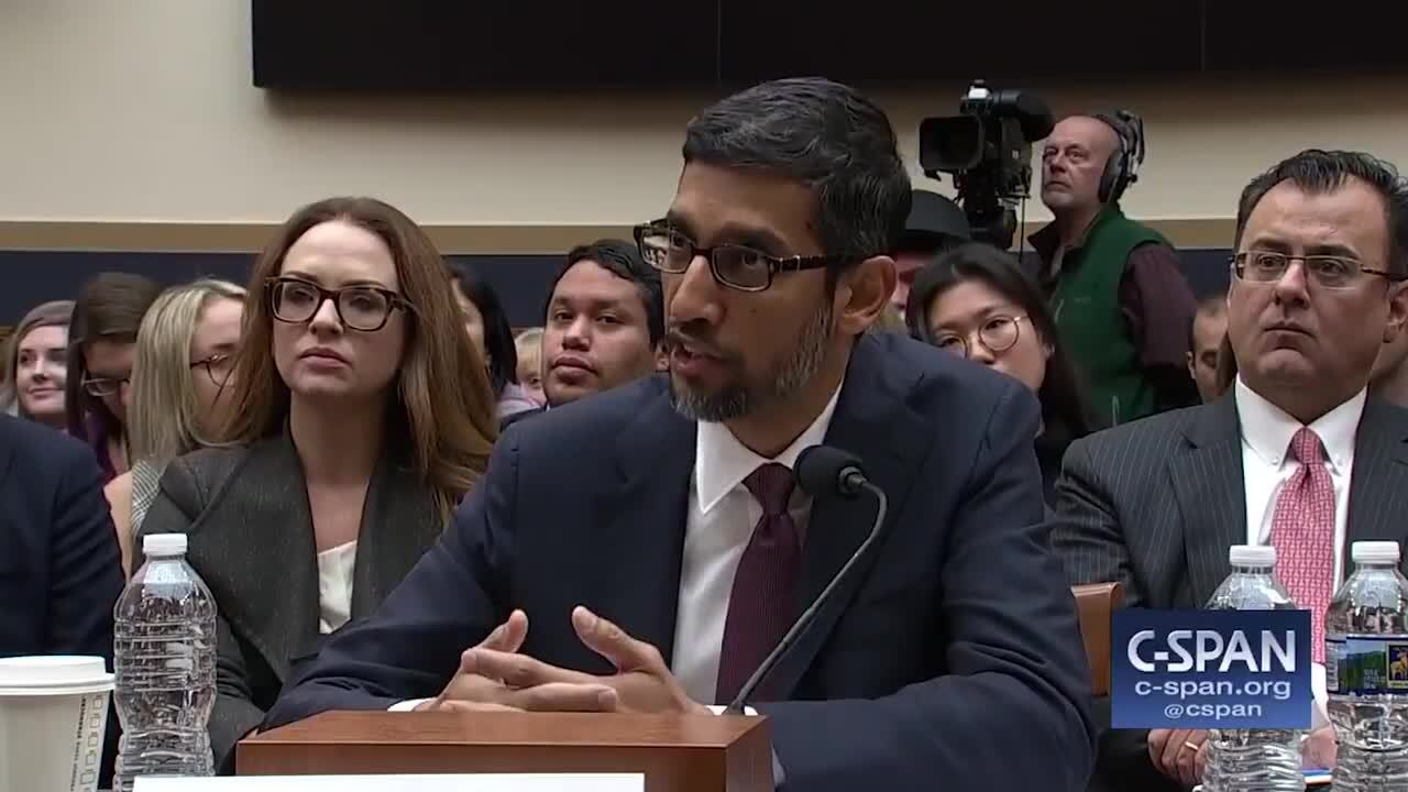 Republican grills Google CEO on why pictures of Donald Trump appear when you search the word 'idiot'