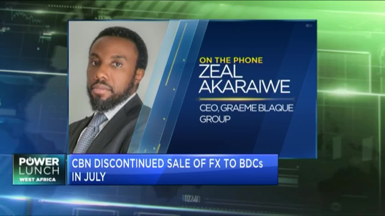 Graeme Blaque Group CEO on the state of the naira & CBN's increased FX market surveillance