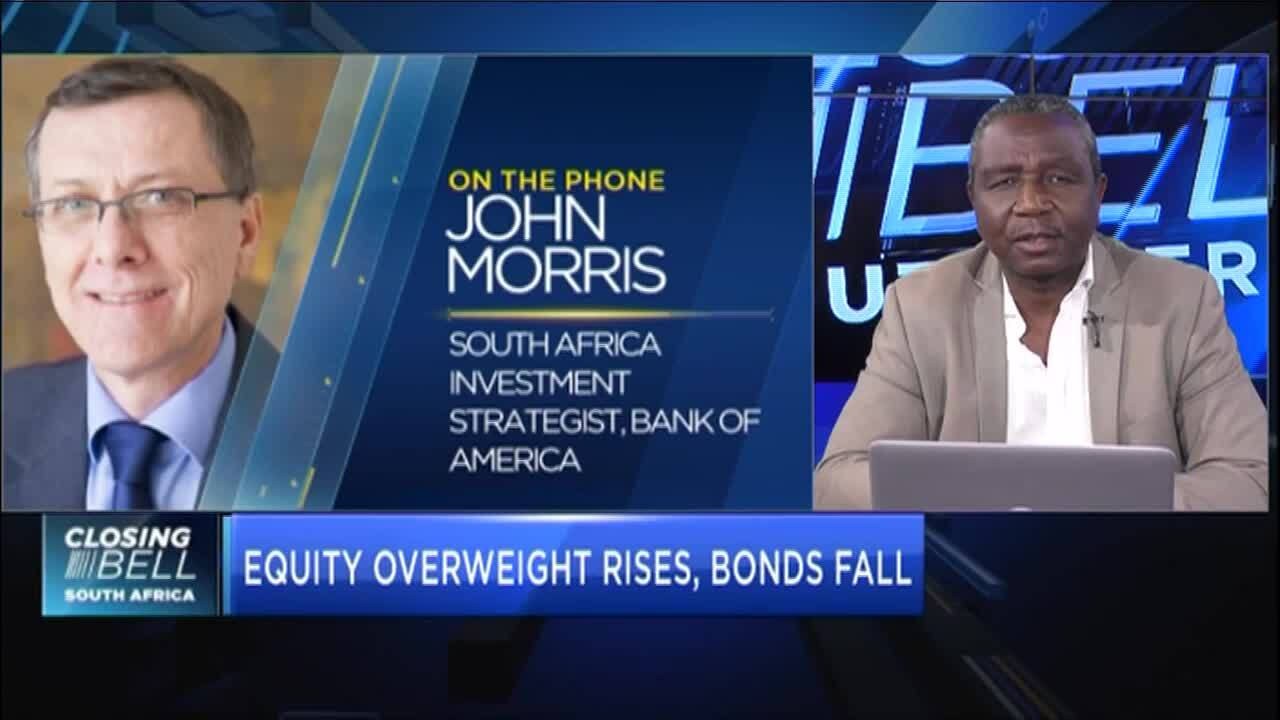 Survey finds majority of SA's investment managers overweight on equities