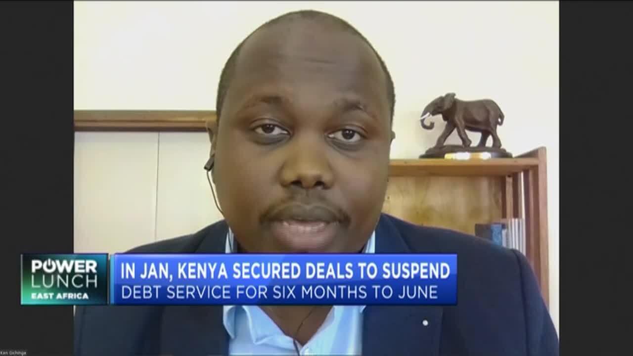 China halts Kenya loans amid debt reprieve bid
