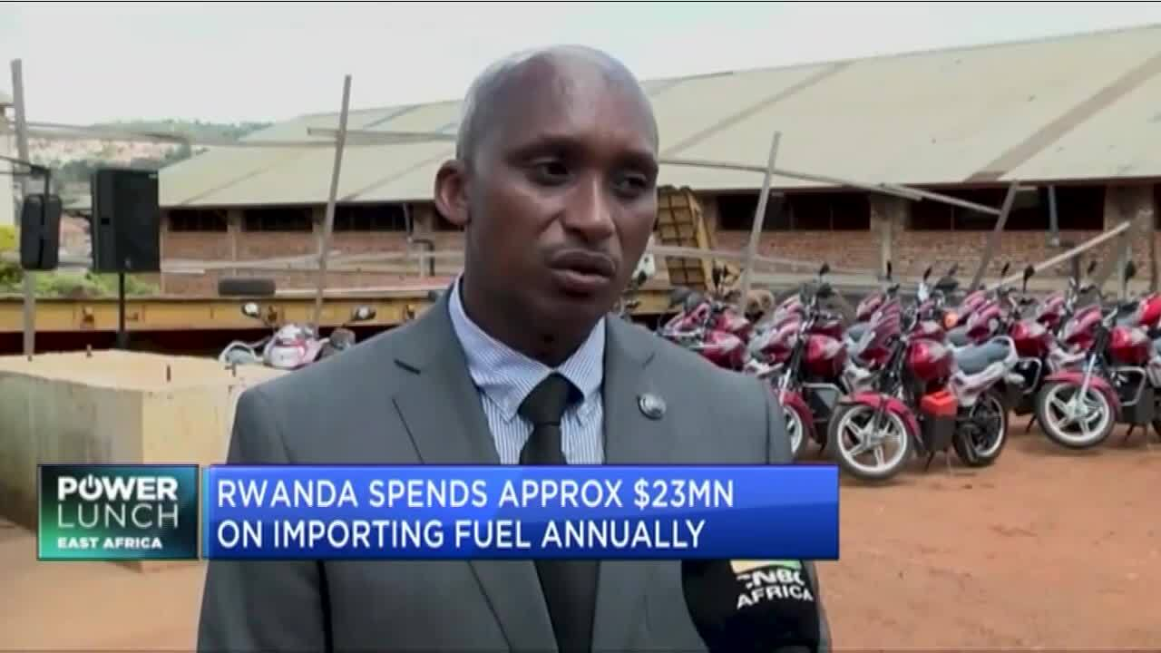 Rwanda plans to scale up electric motorbikes to achieve carbon neutrality goals