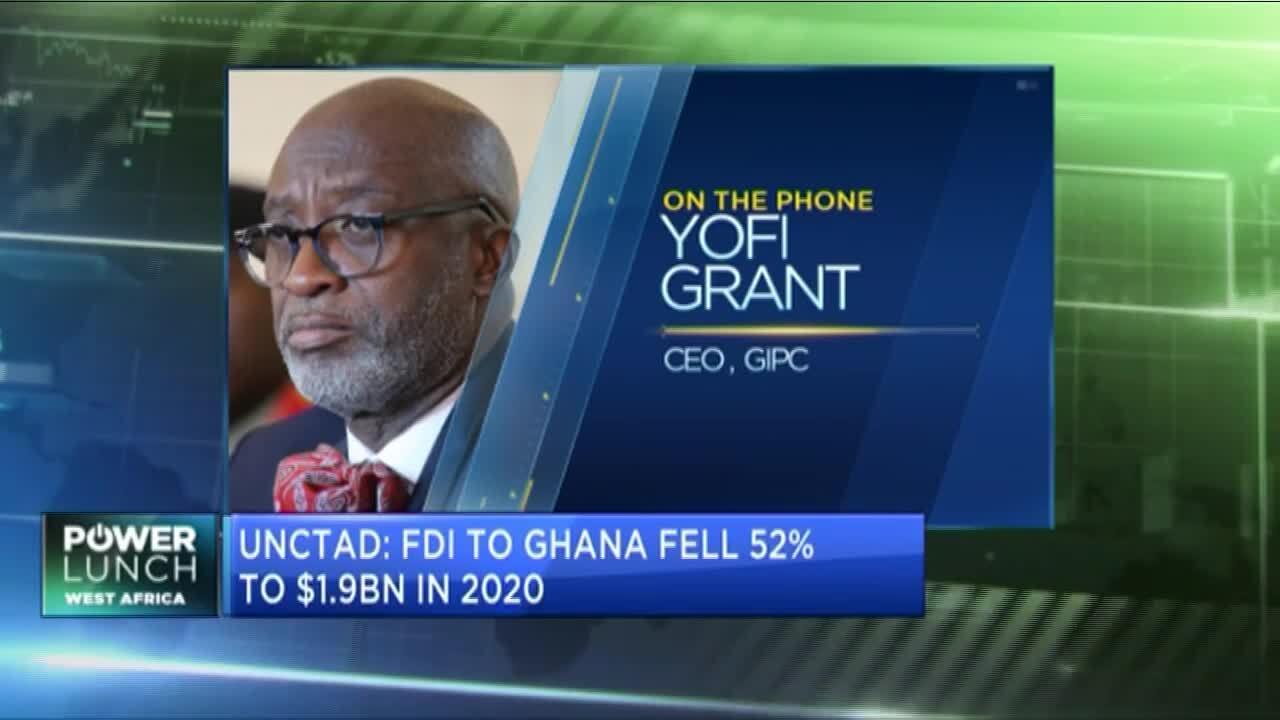 Ghana targets $3bn in FDI flows for 2021