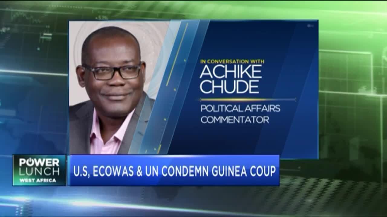 ECOWAS, UN condemn Guinea coup