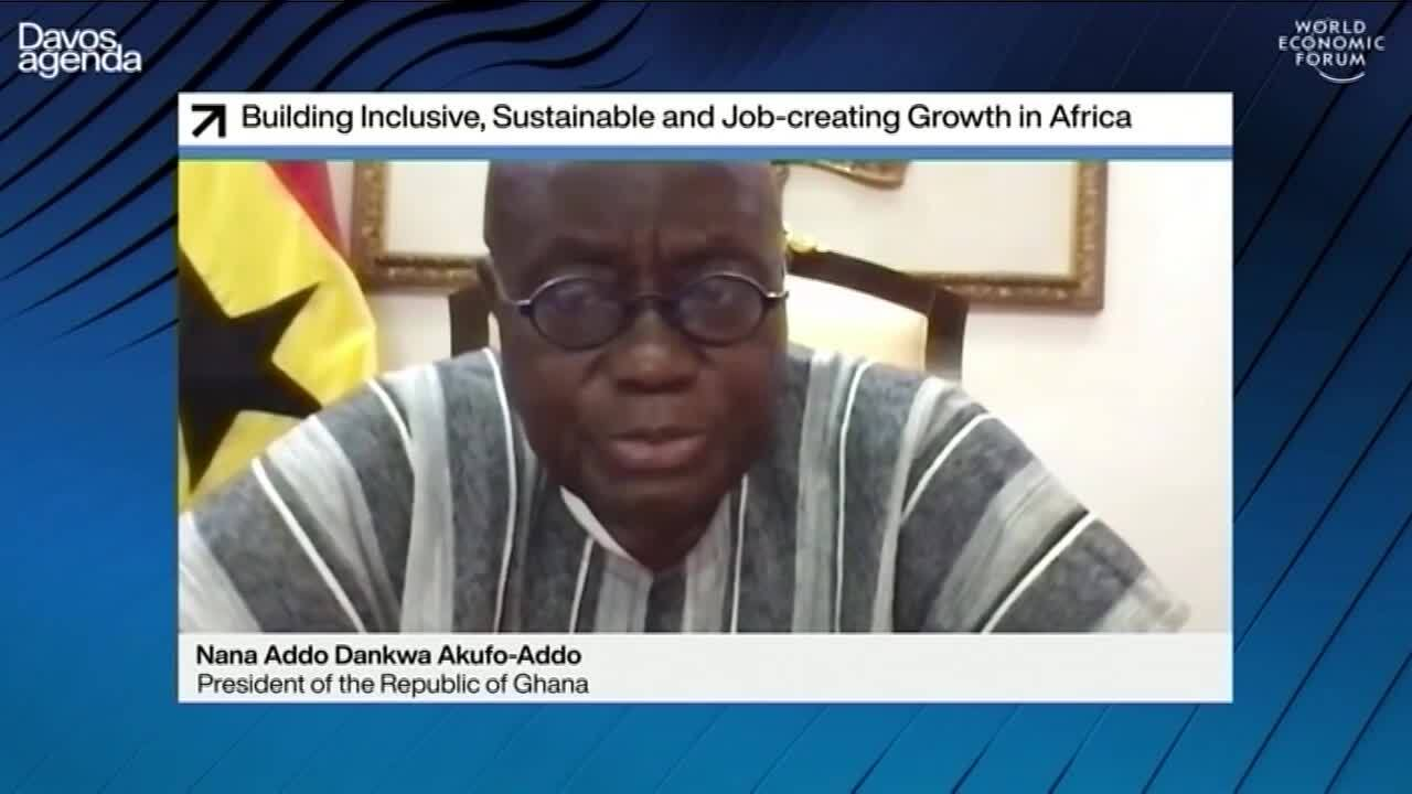 #Davos2021: Nana Akufo-Addo on the path to sustainable recovery for Africa