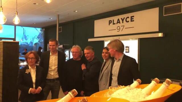 """Neues Betriebsrestaurant """"Jott Playce 97"""" in der Arena"""