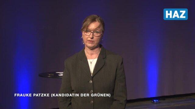 Frauke Patzke, Grünen-Kandidatin für das Amt der Regionspräsidentin bei der Kommunalwahl 2021