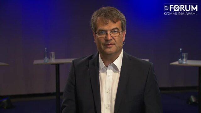 Kandidat Peter Armbrust (CDU) stellt sich vor