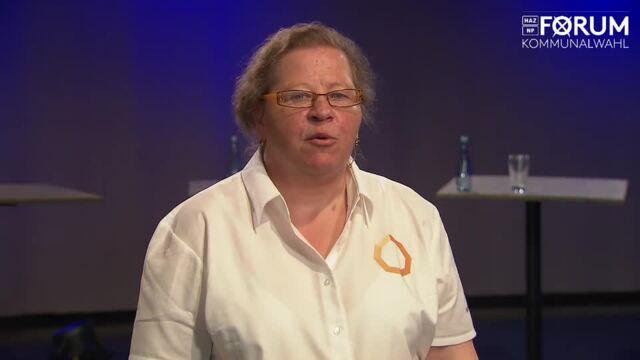 Kandidatin Ulrike Schubert (parteilos) stellt sich vor
