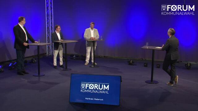 HAZ/NP-Forum zur Bürgermeisterwahl in der Wedemark 2021