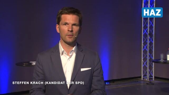 Steffen Krach, Kandidat für das Amt des Regionspräsidenten bei der Kommunalwahl 2021
