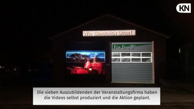 Videoinstallation bei der Freiwilligen Feuerwehr Ottendorf