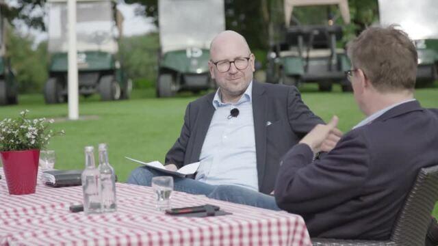 """KN vor Ort"" mit Ralf Stegner im Golfclub Uhlenhorst"