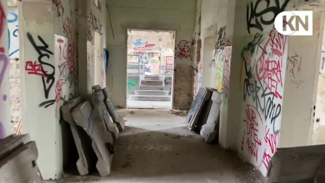 Lost Places in Schleswig-Holstein: Haus 3 im Anscharpark in Kiel