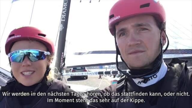 Alica Stuhlemmer und Paul Kohlhoff berichten vom Training für die olympischen Spiele