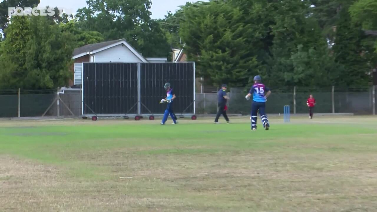First Inter Services T20 Victory For RAF's Young Players In Three Years