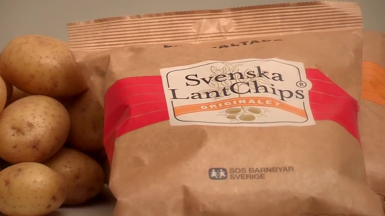 Våra råvaror - Potatis blir till chips