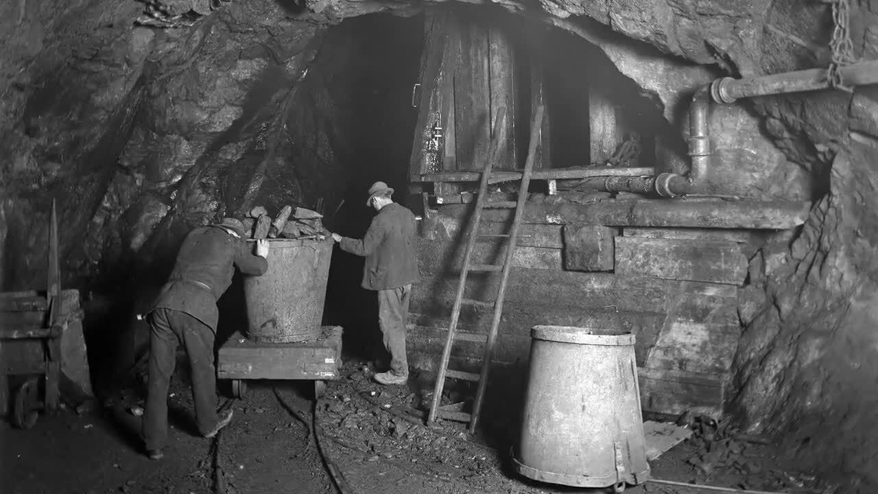 Falu gruva - koppar åt världen