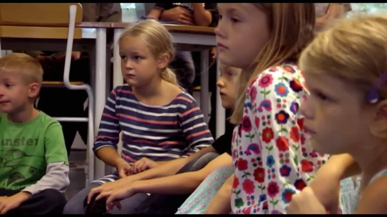 Börja skolan – första skoldagen, del 6 av 12