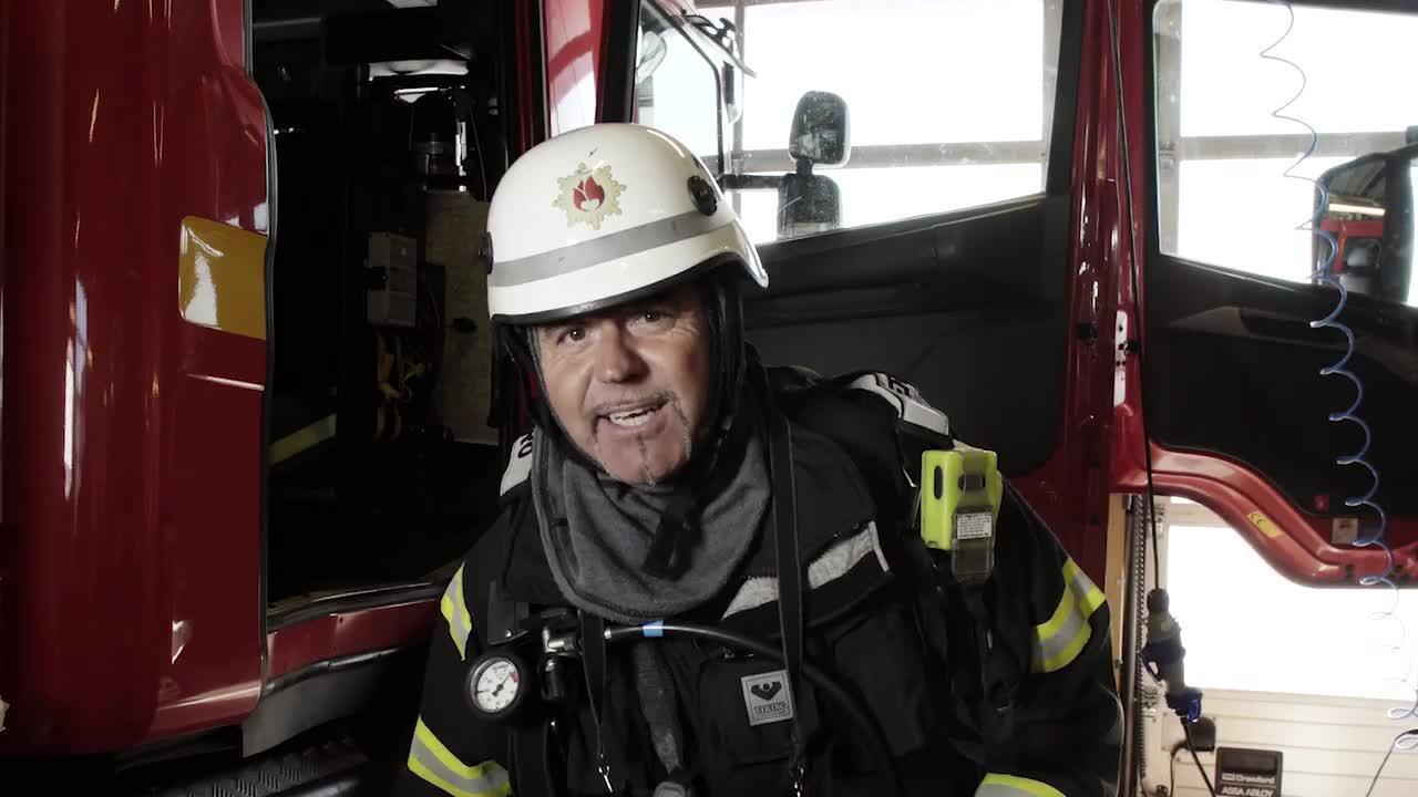 Våra yrken – brandman
