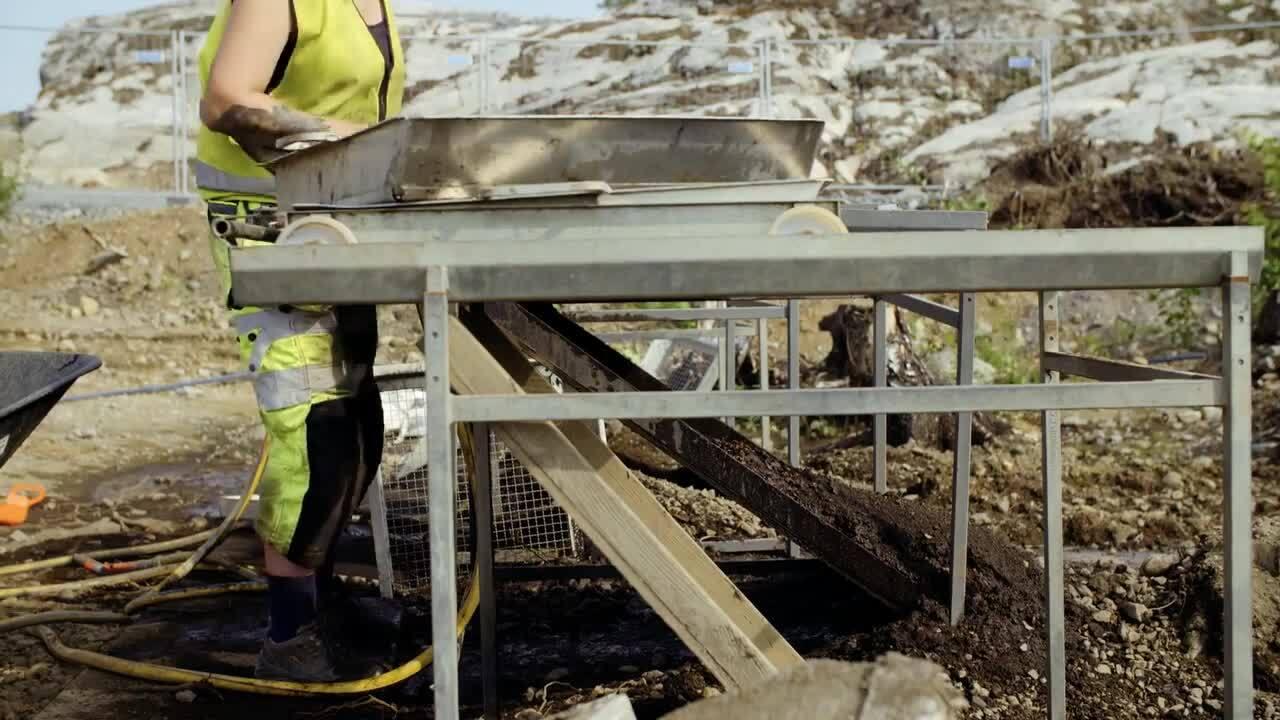 Arkeologi - Myntskatter och skelett berättar om forntiden