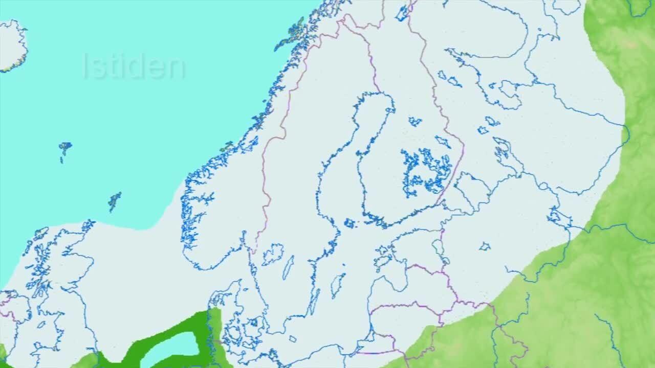 Upptäck Norden– Sveriges geografi och historia