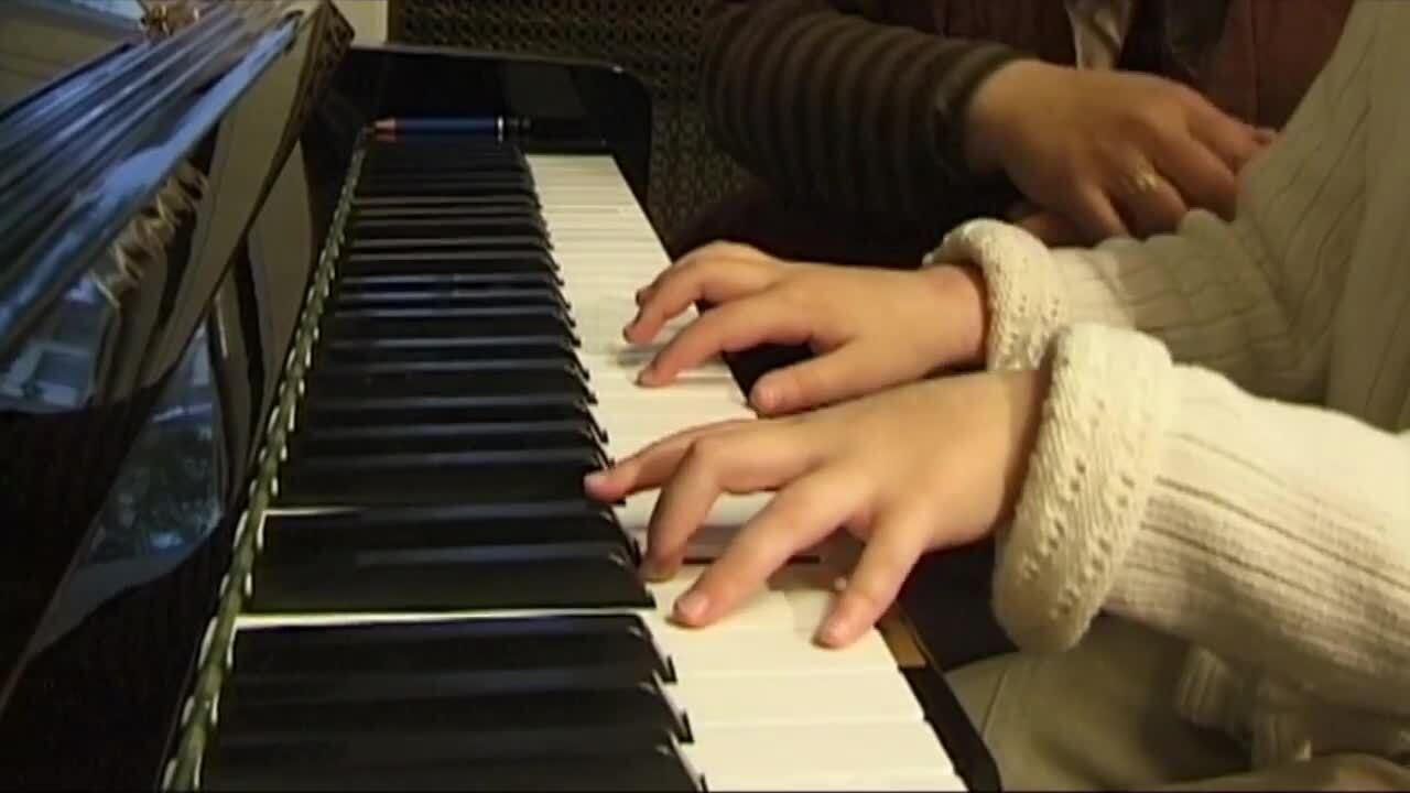 Våra musikinstrument – piano