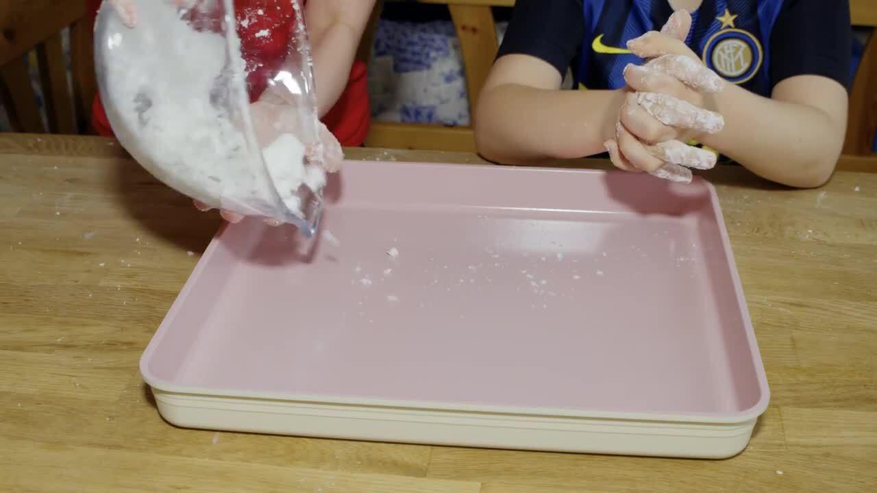 Pyssel och experiment – Tillverka snö i klassrummet