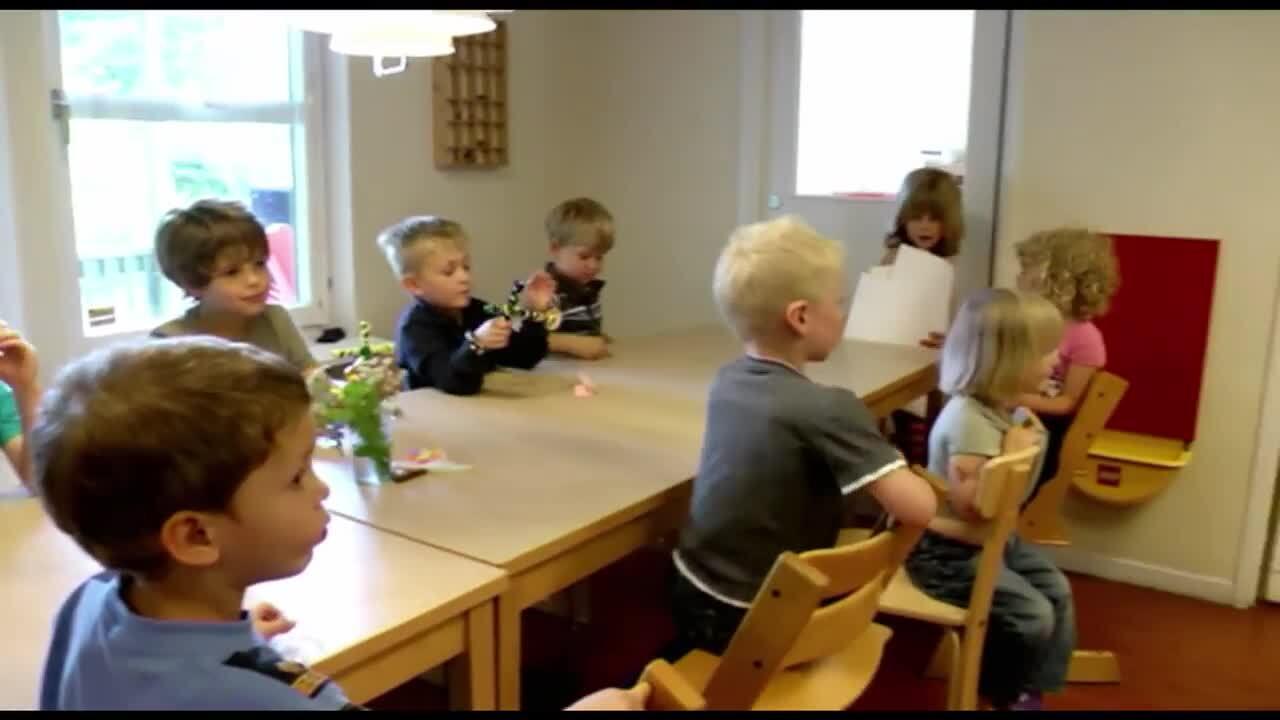 Börja skolan – hej då förskolan, del 3 av 12