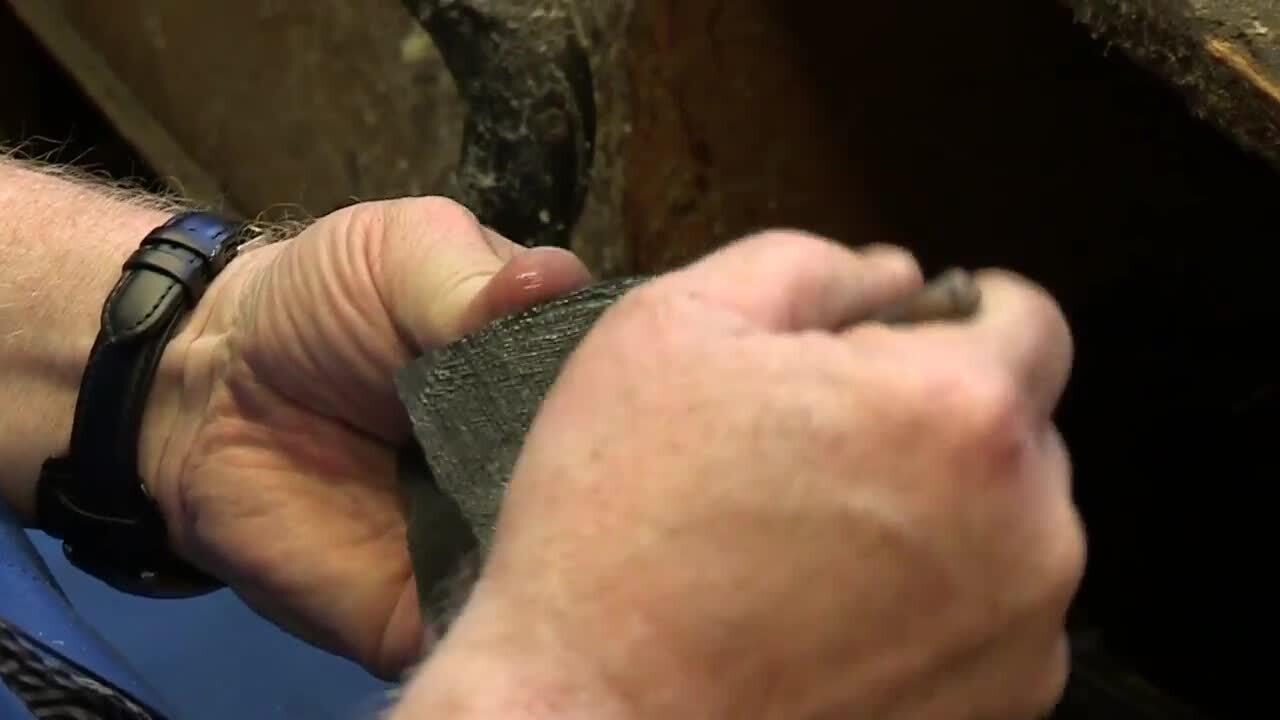 Skomakaren – Reparera en sko