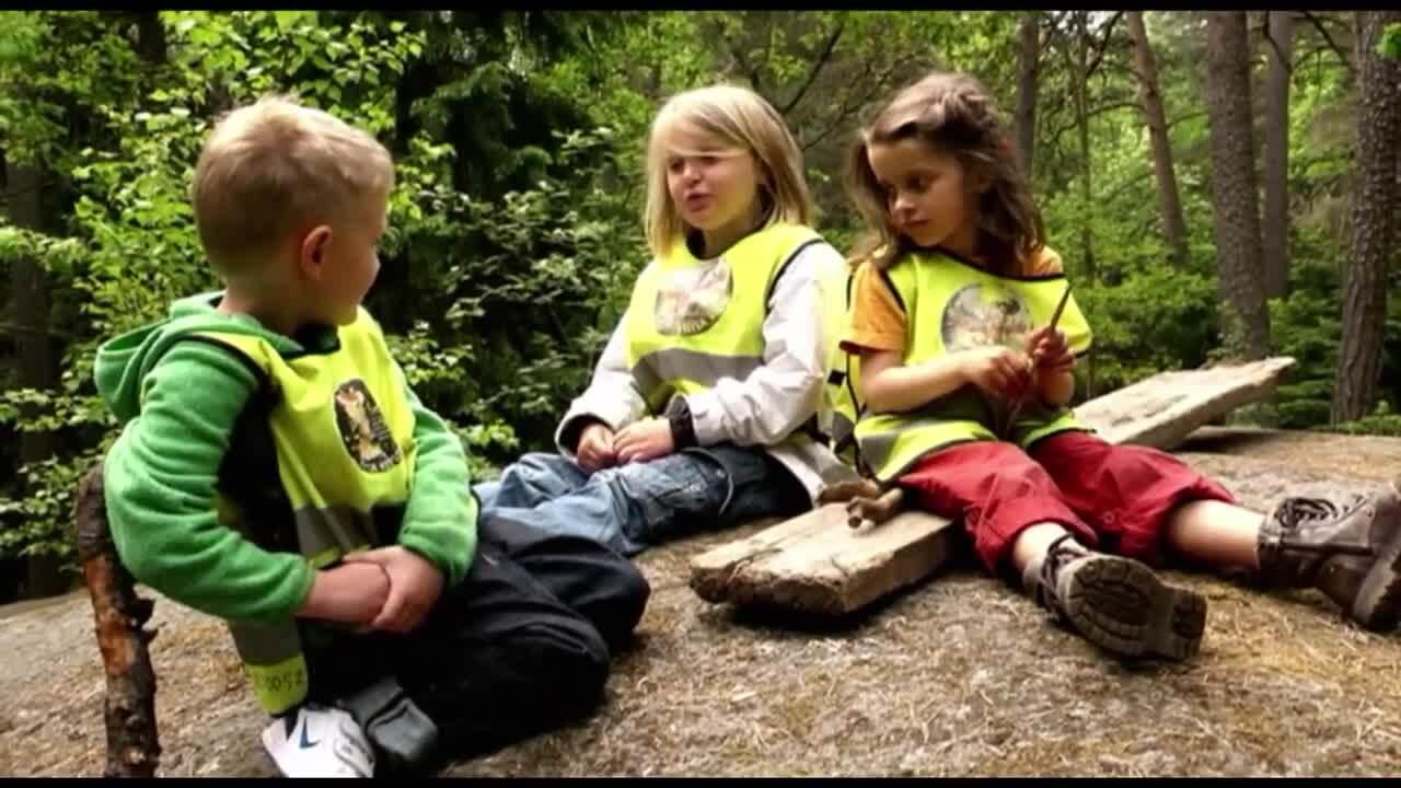Börja skolan – störst på förskolan, del 2 av 12