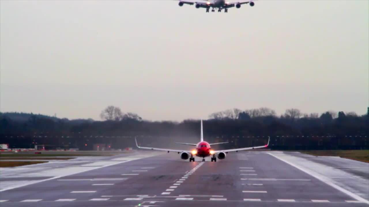 Transport – Flygmaskiner och raketer