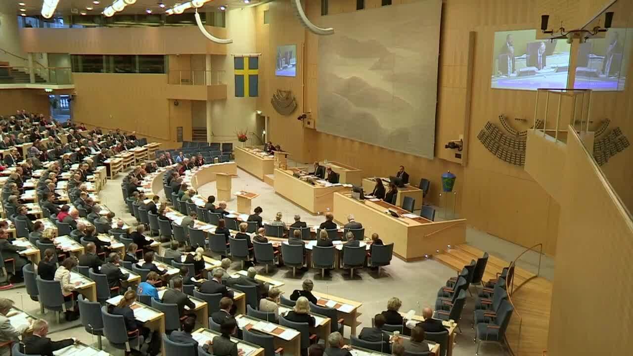 Riksdagen - högsta organ