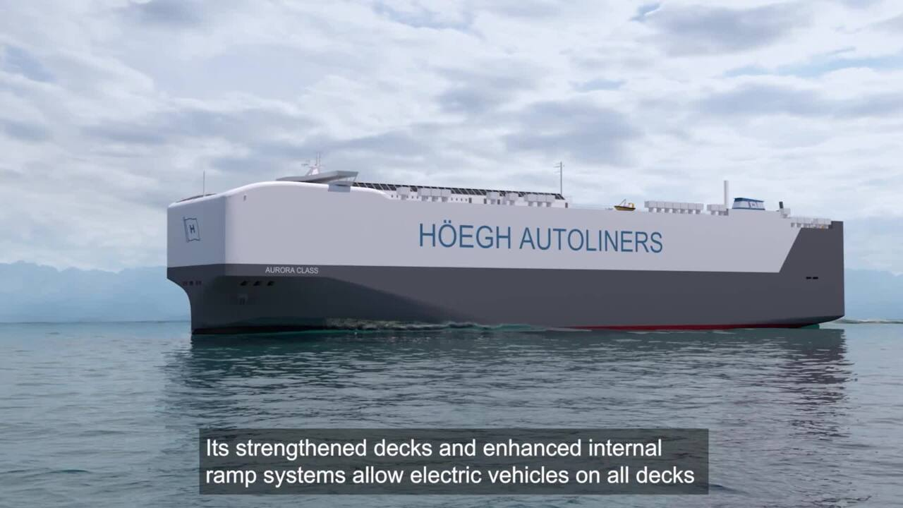 CSO Oskar Orstadius shares how the Aurora class is designed to transport the cargo of the future, Video