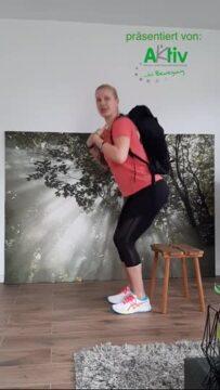 Kniebeugen und Ausfallschritte