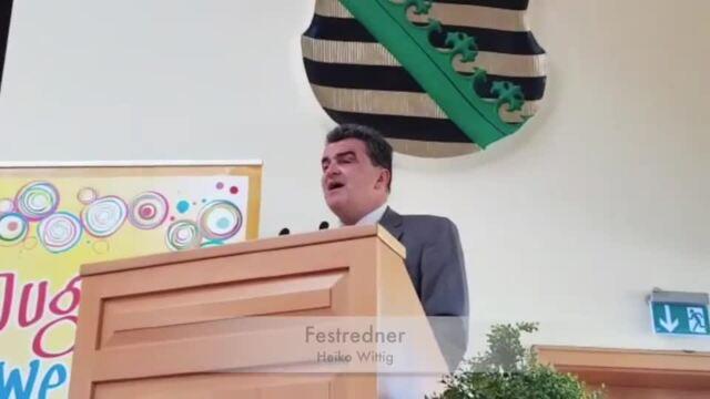 Jugendweiheveranstaltung in Delitzsch, Video Anke Herold