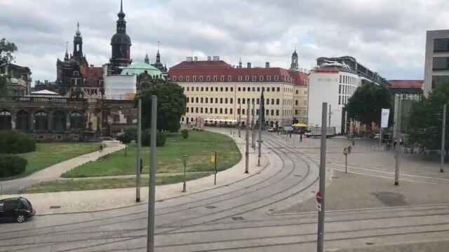 Vision Wheel auf dem Postplatz Dresden