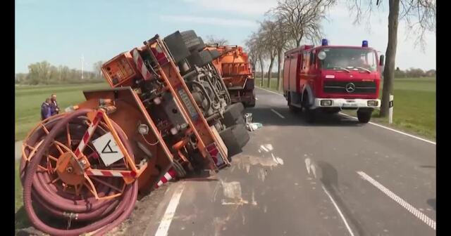 Unfall in Grimmen