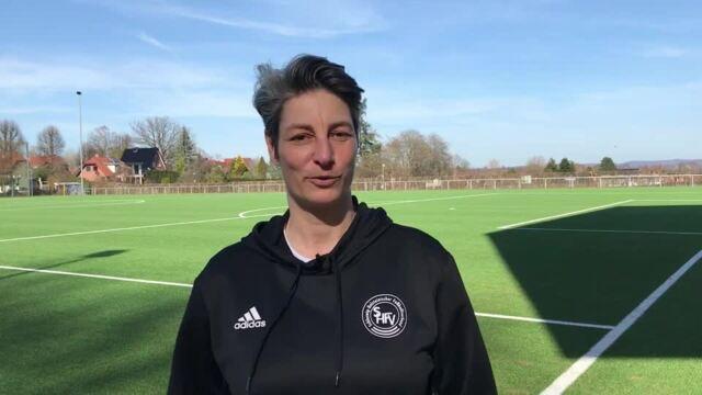 Neue Fußballlehrerin beim SHFV: Anouschka Bernhard stellt sich vor