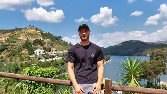 Unser Team für Tokio: Ruderer Max Appel beim Training