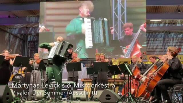 Festspiele MV: Martynas Levickis spielt Vivaldi (J. Schultz, 17.07.2021)