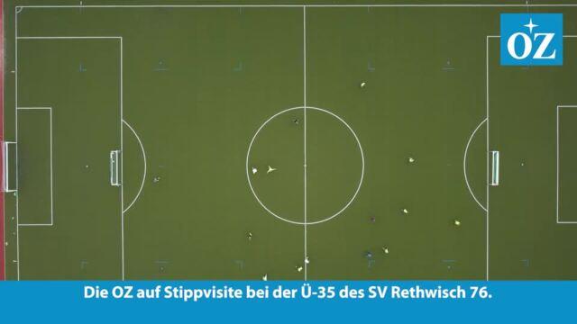 Zu Besuch bei der Ü-35 des SV Rethwisch 76 (Video: Martin Börner | 30.06.2021)