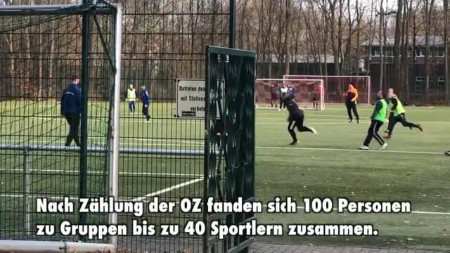 Massenauflauf im Greifswalder Volksstadion (Video: Alexander Kruggel | 15.03