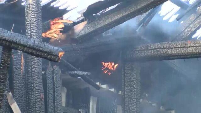 Feuer in Delingsdorf