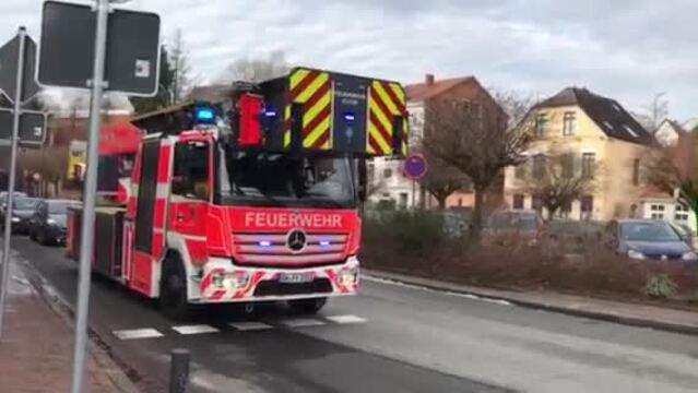 Eutin: Feuerwehr informiert Anwohner über Probleme bei der Gasversorgung