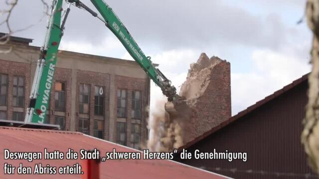 Rostock: Warum der Abriss des DMR-Schornsteins für Ärger sorgt