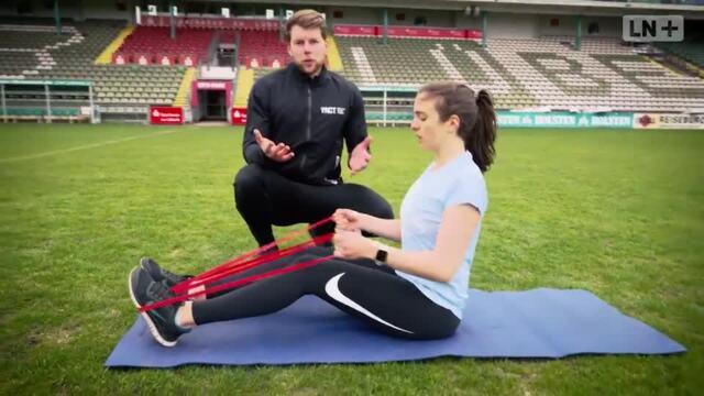 Fit werden mit den LN - Rückenübungen
