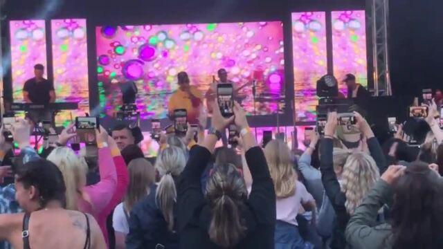 Pietro Lombardi auf Rügen: So lief das Konzert in Bergen (Video: Mathias Otto, 10.7.2021)