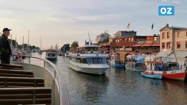 Eindrücke von der Schlager Sail 2021 in Rostock (22.8.2021 / Video: Labude-Gericke)
