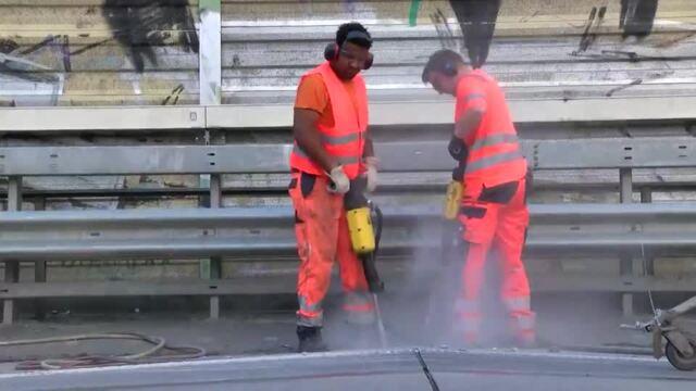 A1 Bauarbeiten Reinfeld